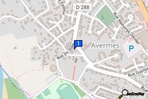 Avermes - Médiathèque municipale La Passerelle