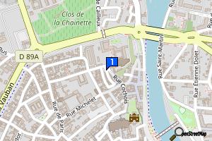 Auxerre - Abbaye Saint-Germain