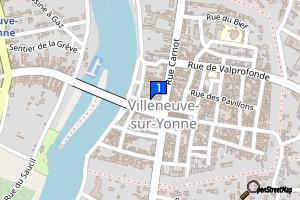 Villeneuve-sur-Yonne - Bibliothèque Jorge-Semprun