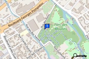 Troyes - Parc des Moulins