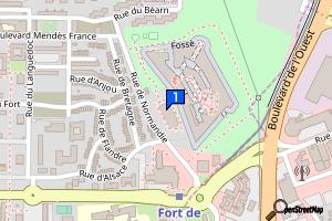 Mons-en-Baroeul / Bibliothèque municipale