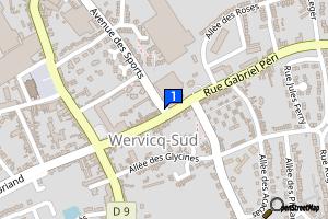 Wervicq-sud / Médiathèque Municipale
